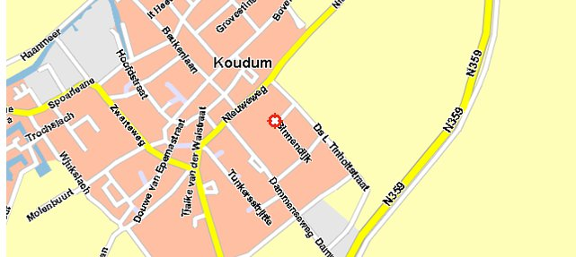 koudum map